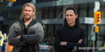 Loki Becomes Thor: Tom Hiddleston lifts Mjolnir in this wacky fan art - Asap Land