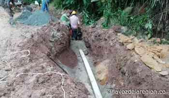Obras de optimización y reparación al acueducto de Oporapa - Noticias