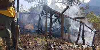 Homem é resgatado dentro de construção em chamas em Cachoeiras de Macacu - Portal Multiplix