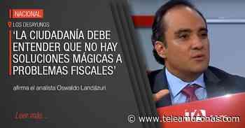 Oswaldo Landázuri analiza los retos económicos del próximo gobierno - Teleamazonas