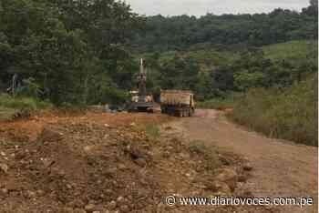 Asfaltado de la carretera Soritor – Selva Alegre está paralizada - diariovoces.com.pe