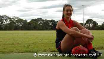 Melbourne Demons re-sign East Blaxland's Brenna Tarrant - Blue Mountains Gazette
