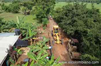 Inversión vial llegará a San Pedro de Urabá - El Colombiano