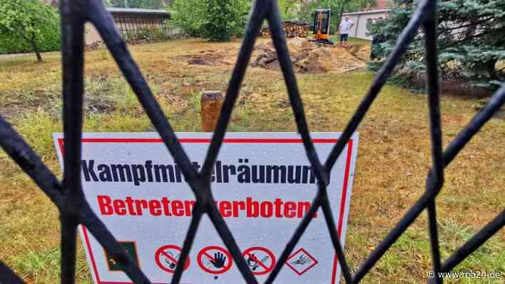 Weltkriegsbombe in Spremberg ist erfolgreich entschäft - 1.400 Menschen von Evakuierung betroffen - rbb24