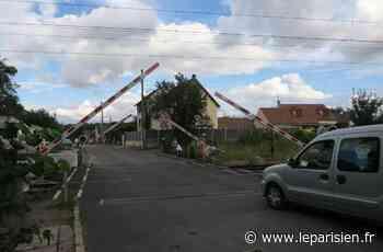 Parmain : le maire impose l'ouverture du passage à niveau - Le Parisien