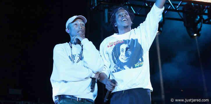 Pharrell Williams & Jay-Z Take On Racial Inequalities in New Song 'Entrepreneur' - Read the Lyrics & Listen Now!
