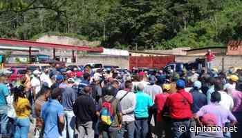 Monagas   Conductores trancan Caripe por ausencia de gasolina - El Pitazo
