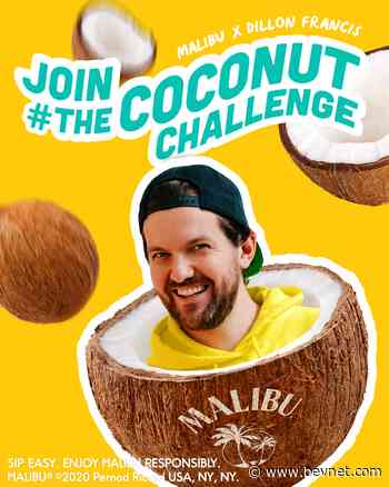 Malibu Partners With DJ Dillon Francis for Launch of #TheCoconutChallenge - BevNET.com