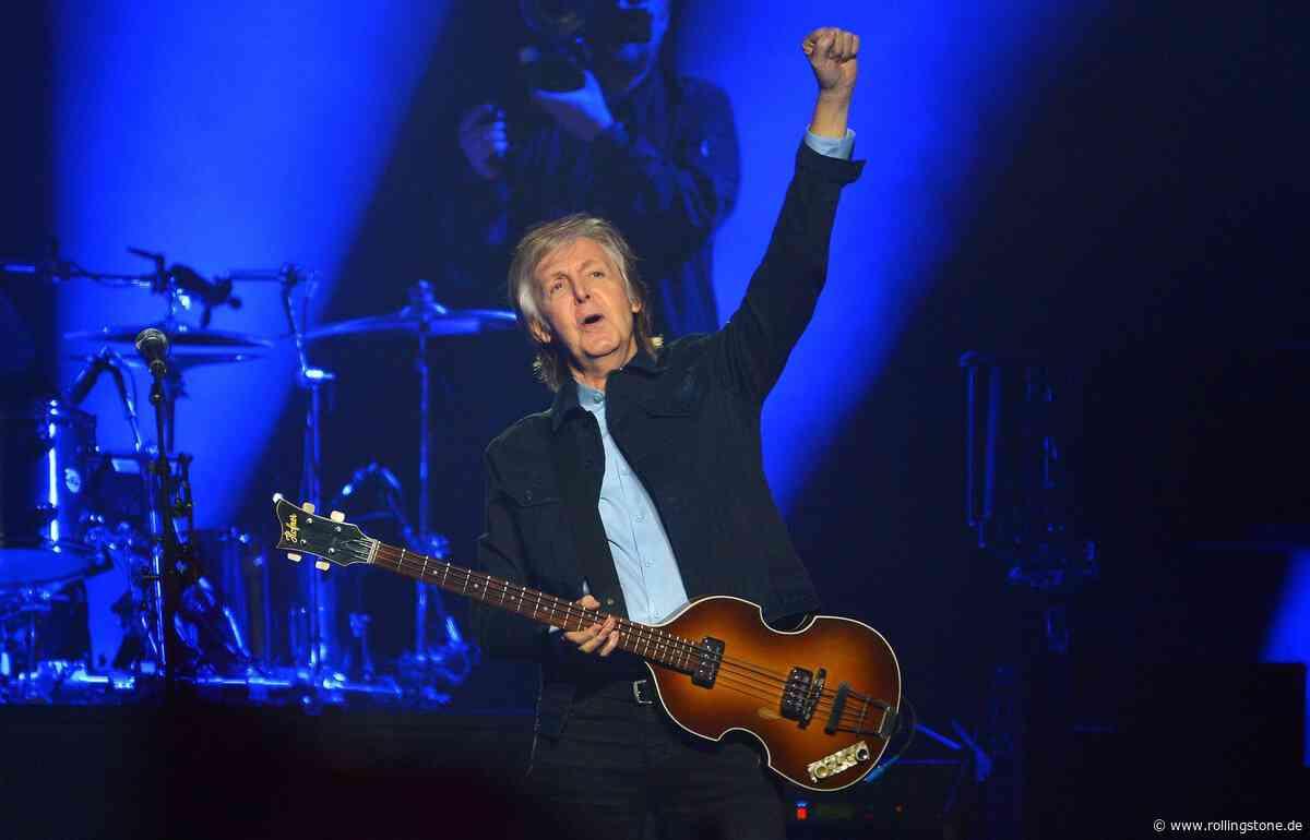 Paul McCartney benutzt immer noch denselben Gitarrenverstärker wie mit 14 - Rolling Stone