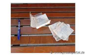 BPOL-FL: Husum/Bredstedt/Westerland - Bundespolizei warnt vor Betrüger im Zug - Presseportal.de