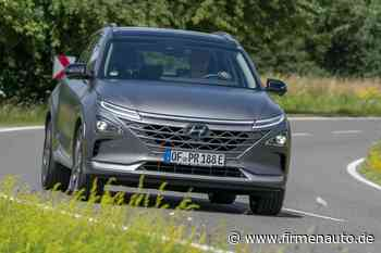 Hyundai Nexo: Wasserstoff-Dampfer - Firmenauto