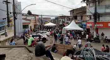 Vídeo: pagamento do auxílio emergencial gera aglomeração em Porto Calvo - tnh1.com.br