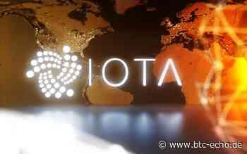 IOTA 1.5: Meilenstein für das Mainnet – MIOTA-Kurs rund 15 Prozent im Plus - BTC-ECHO | Bitcoin & Blockchain Pioneers