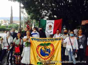 Realizan ceremonia de fuego en Jiquilpan - Quadratín - Quadratín Michoacán
