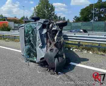 SANTHIA' – Incidente sull'autostrada A4 Torino-Milano, deceduta una donna; grave un ragazzino - ObiettivoNews