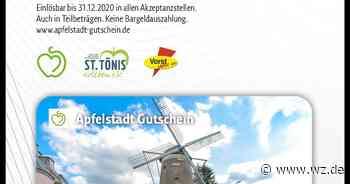 Tönisvorst: Ab September gibt's den Apfelstadt-Gutschein - Westdeutsche Zeitung