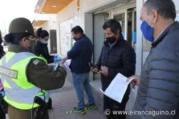 Masiva fiscalización a habitantes de Rengo y en los accesos a la comuna. - El Rancagüino