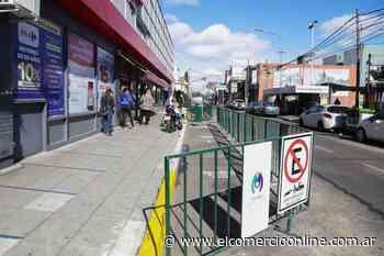 Vicente López amplió las veredas del centro comercial de Carapachay - elcomercioonline.com.ar