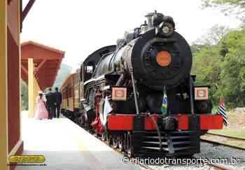 Trem turístico de Guararema (SP) volta a funcionar no sábado (22) - Adamo Bazani