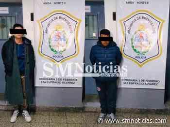Cayeron en San Martín delincuentes que robaron un auto en Villa Bosch - SMnoticias
