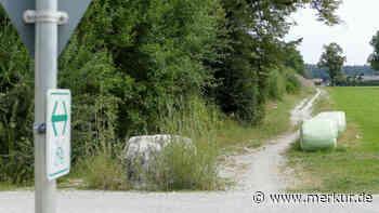 Alte Straße wird Rad- und Fußweg - Merkur.de