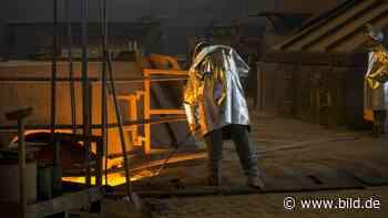 Saarland wird Vorreiter in Deutschland - Grüner Stahl aus Dillingen - BILD