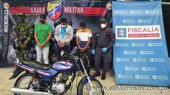 Caen tres presuntos extorsionistas en el municipio Zona Bananera - El Informador - Santa Marta
