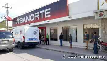 Usuarios de PN saturan banco de Allende [Coahuila] - 21/08/2020 - Periódico Zócalo