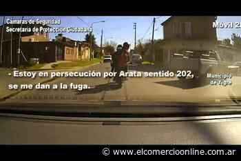 Persecución en Don Torcuato: Conducían una moto robada intentaron escapar y fueron detenidos - elcomercioonline.com.ar