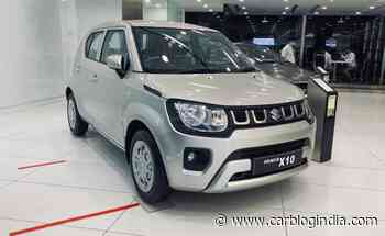 Maruti Suzuki Ignis Available With X10 Dealer Level Accessories Package! - Car Blog India