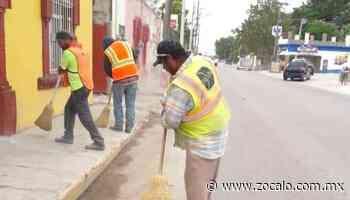 Realizan mantenimiento en calles de Zaragoza [Coahuila] - 17/08/2020 - Periódico Zócalo