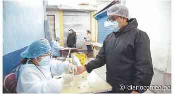 53 positivos en El Acero y mercado Alfonso Ugarte de Chimbote - Diario Correo