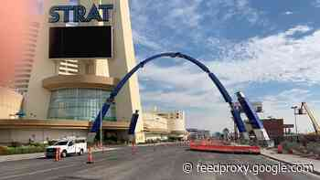 Las Vegas arches set to debut in October