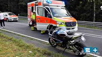 Netphen: Motorradfahrer verunglückt bei Applauskurve - Westfalenpost