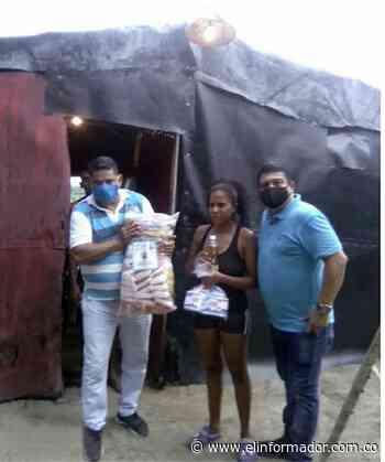 Alcalde de Sitionuevo inició segunda entrega de 5000 mercados - El Informador - Santa Marta