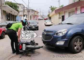 Motociclista es arrollado en la colonia Guayabal de Minatitlán - Imagen del Golfo