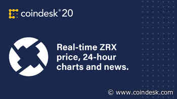 0X (ZRX) Price Index - CoinDesk 20 - Coindesk