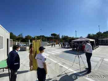 Inaugurato il centro di raccolta di via Salvatoretto a Tor Lupara [Video] - Tiburno.tv - Tiburno.tv