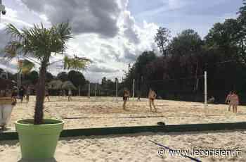 Wissous plage : une mini-station balnéaire au temps du Covid-19 - Le Parisien