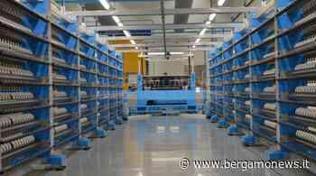 Carvico riparte con il nuovo reparto di orditura - BergamoNews