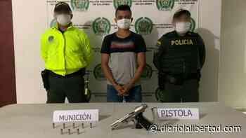 Capturado por porte ilegal de arma de fuego en Zona Bananera - Diario La Libertad