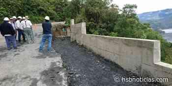 [FOTOS] Avanzan obras de mejoramiento en la vía Ubalá-Palomas-Mámbita-Medina Cundinamarca   HSB N - HSB Noticias