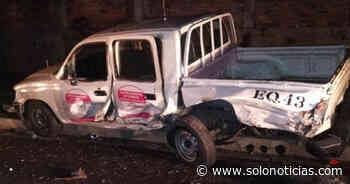 Conductor ebrio provoca accidente y deja 2 lesionados en Antiguo Cuscatlán - Solo Noticias