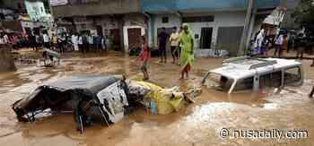 Longsor di Jaipur India, Sejumlah Kendaraan Terkubur Lumpur - Nusadaily