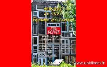 Débat: « Ensemble l'après » mercredi 26 août 2020 - Unidivers