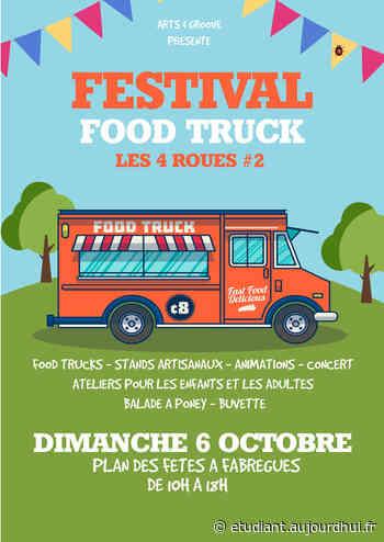 """Festival Food Truck """"Les 4 Roues"""" - PLAN DES FETES DE FABREGUES, FABREGUES, 34690 - Sortir à France - Le Parisien Etudiant"""