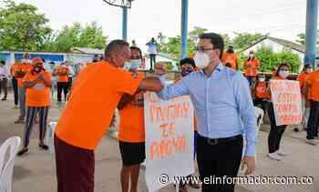 En marcha segunda fase de acueducto de Pivijay para beneficiar a más de 38 mil personas - El Informador - Santa Marta