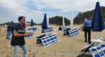 A Torre Lapillo lido abusivo con 89 ombrelloni: carabinieri in spiaggia, scatta il sequestro - Quotidiano di Puglia