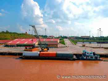 Terminal portuario de Yurimaguas - Nueva Reforma, Perú: Carga contenerizada creció un 290% entre enero y julio de 2020 - MundoMaritimo.cl