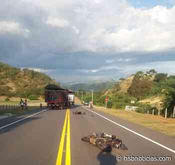 Trágico accidente en la vía Girardot – Guataquí: adulto mayor fue arrollado por una moto   HSB - HSB Noticias